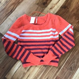 Free People Blouse Sweater Pullover Sz Sp NWT